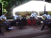 The Herreras. The full band.