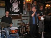 The Cobra Brothers at Dubh Linn Square