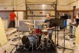 Recording Drum Tracks for Rosewood Ghosts self-titeld album